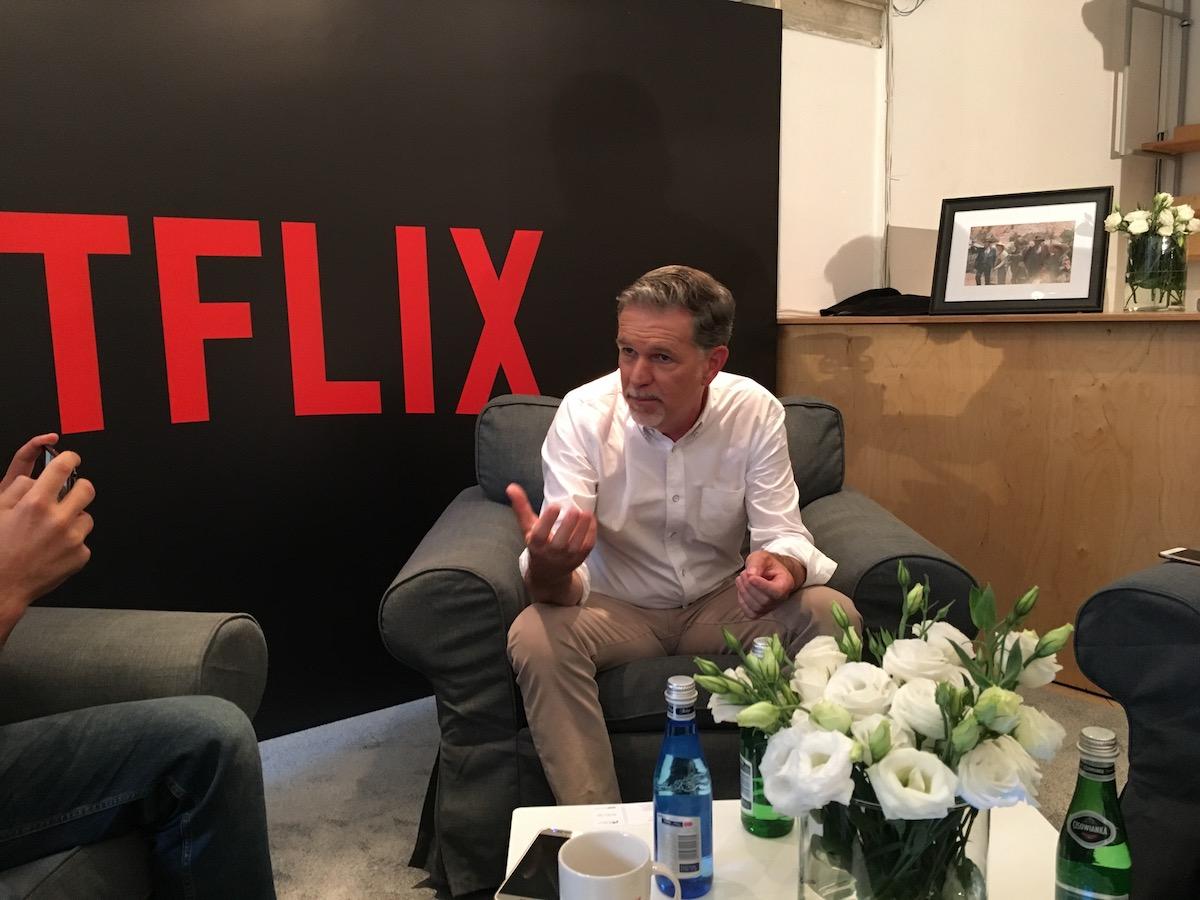 Netflix oficjalnie zadebiutował w Polsce, a Reed Hastings odpowiedział na nasze pytania – relacja Spider's Web
