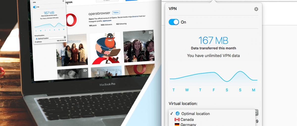 Bo blokowanie reklam to za mało… W końcu darmowy VPN wbudowany w Operę!