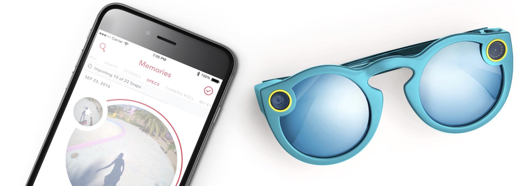 Snapchat wypuścił swój pierwszy sprzęt. Nie, to nie jest smartfon