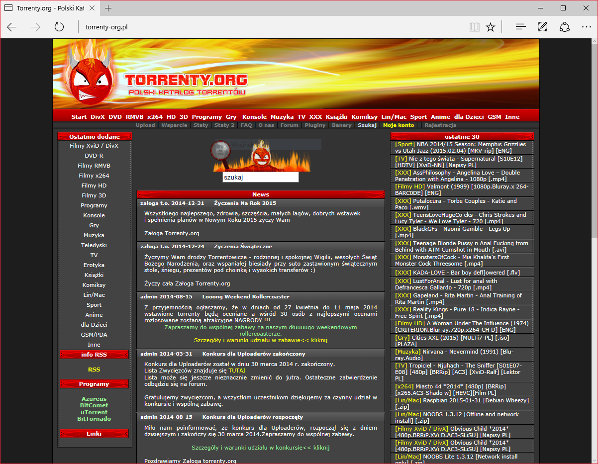 jakie torrenty forum