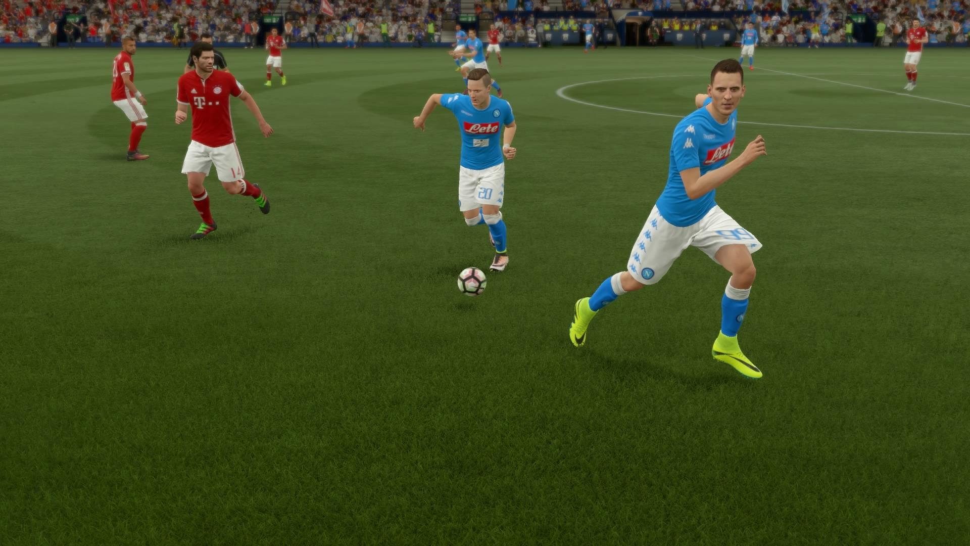 FIFA 17 Szybki mecz (w menu)