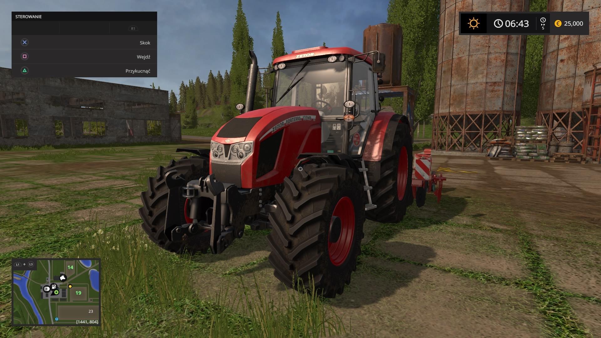 Farming Simulator 17 Pięć Niespodzianek Dla żółtodzbioba