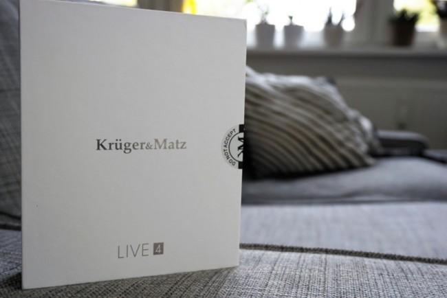 Kruger&Matz Live 4S to dobry i tani smartfon z Androidem.