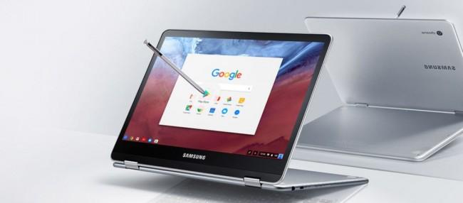 Samsung Chromebook Pro tablet