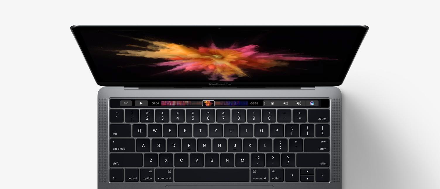 Touch Barem Apple pokazuje bezsensowność ekranów dotykowych w notebookach