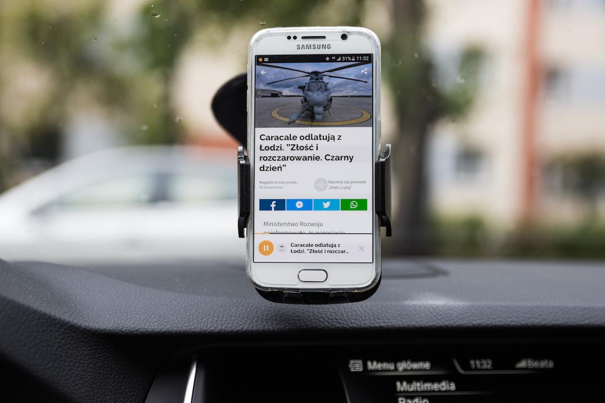 Nowa wersja aplikacji Onetu to kapitalne rozwiązanie dla… kierowców
