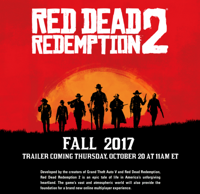 Red Dead Redemption Trailer Multiplayer
