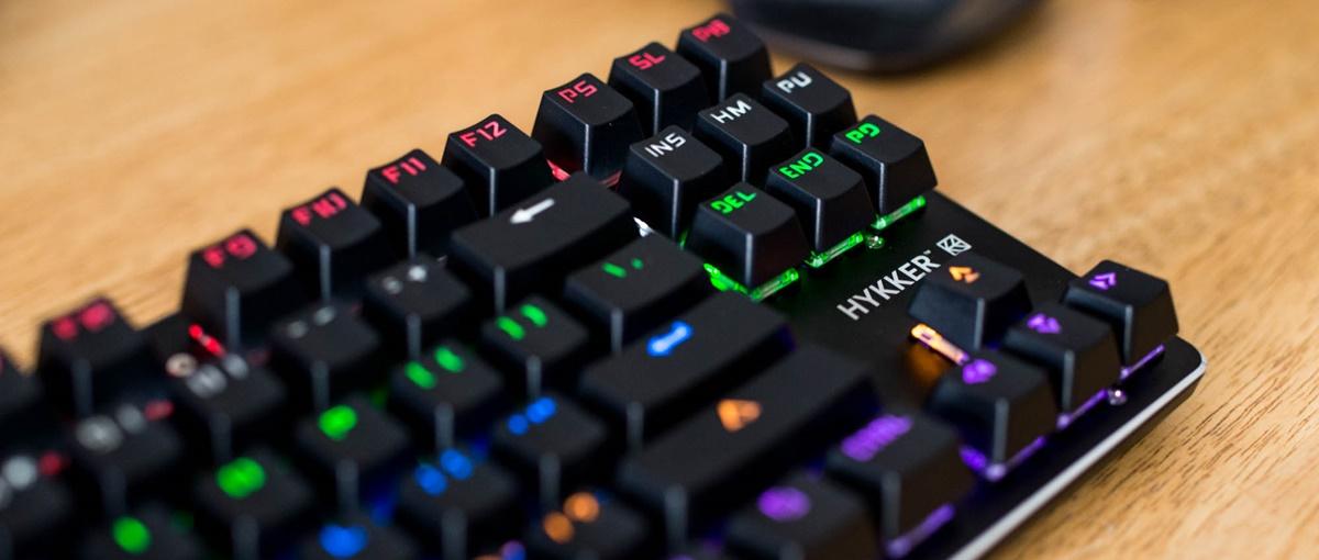 Czy warto kupić klawiaturę mechaniczną z Biedronki? Hykker X Range – recenzja Spider's Web