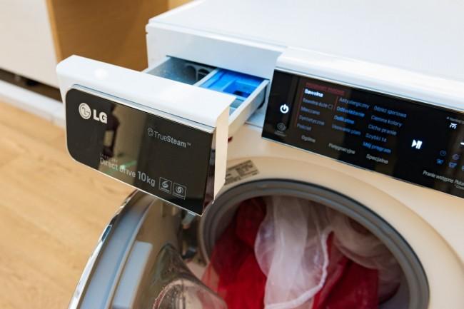 Pralki LG TurboWash obsługują ciekawy system 6 Motion.