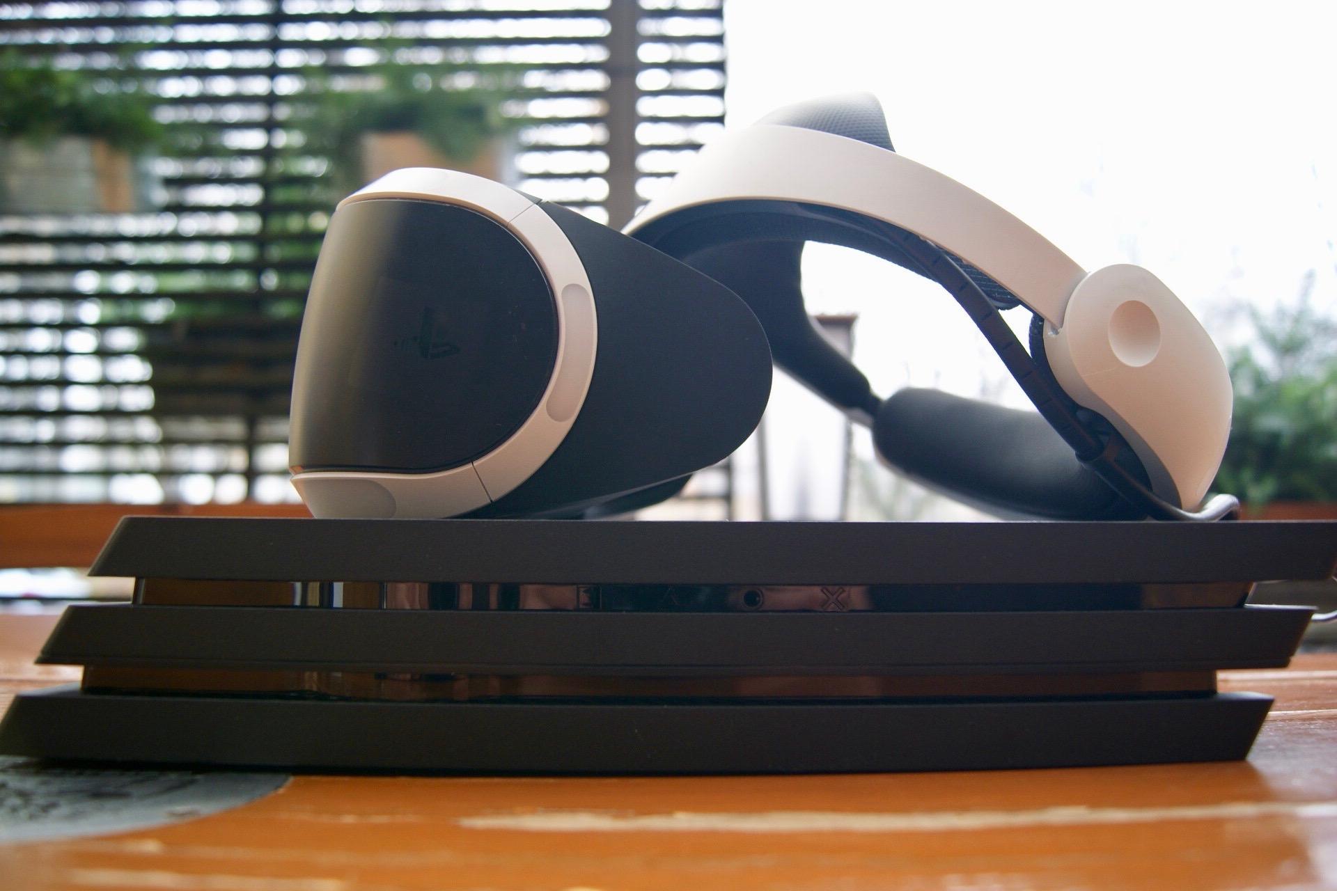 PlayStation 4 Pro + PlayStation VR to  dobry związek. W grach czuć różnicę