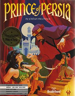 Okładka Prince Of Persia z 1989 roku.