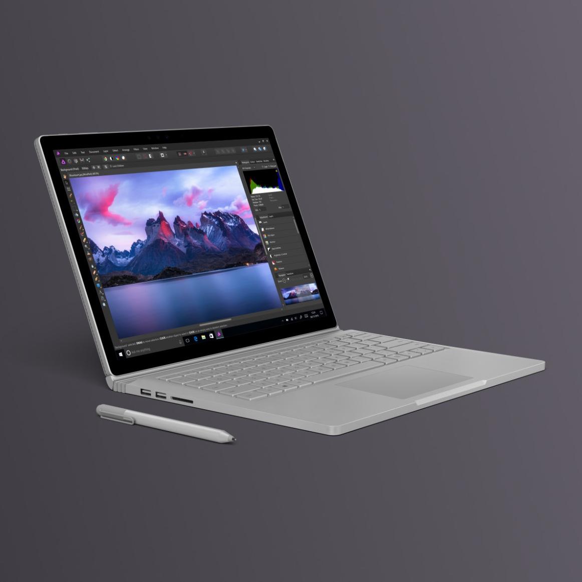 Pełna wersja Affinity Photo w końcu dostępna na Windowsie. Do tego ze zniżką na start