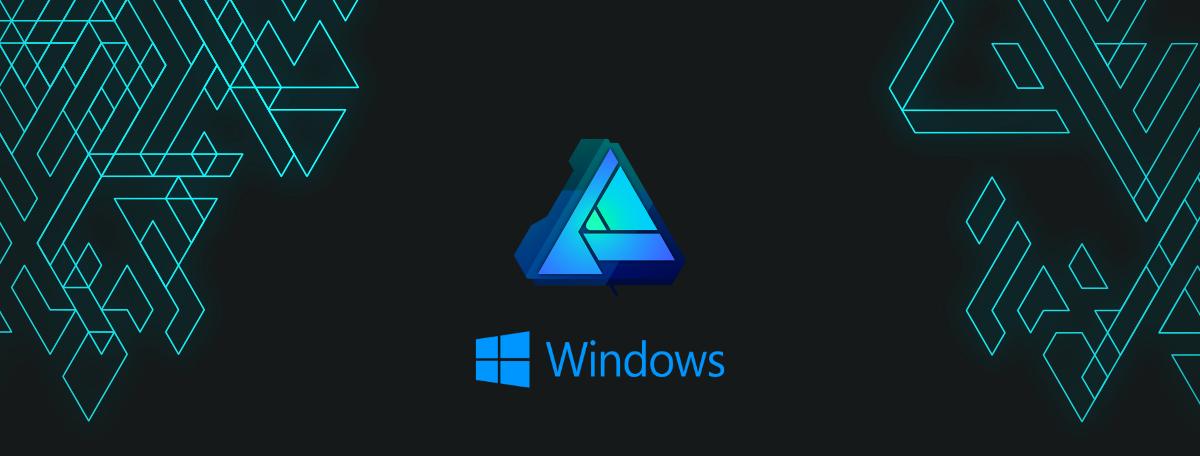 Affinity Designer w pełnej wersji na Windows. Na start spora zniżka
