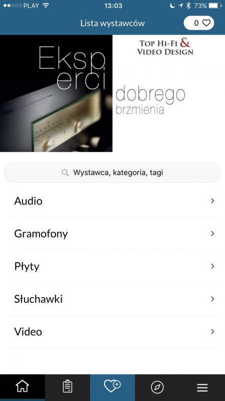 Audio Video Show 2016 - aplikacja mobilna iPhone App Store