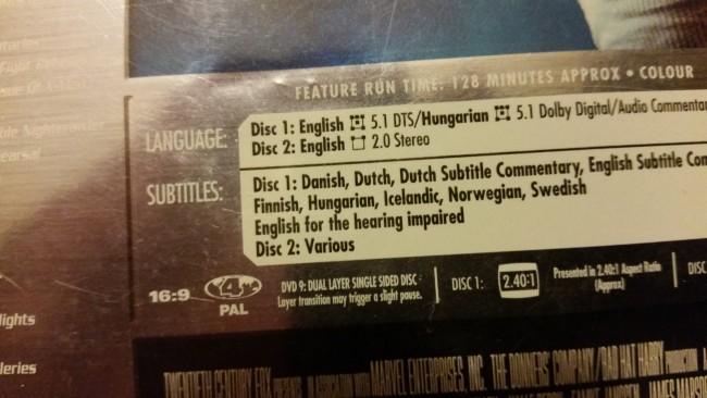 płyta DVD X-Men 2