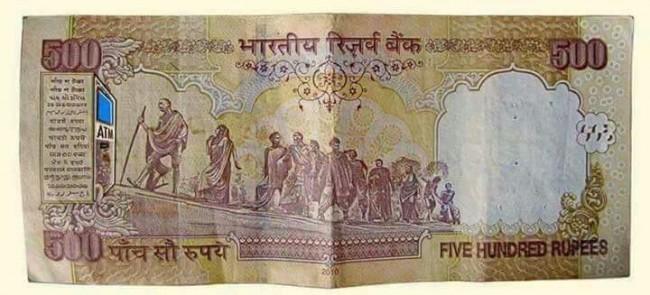 Karykatura doskonale symbolizująca sytuację w Indiach.