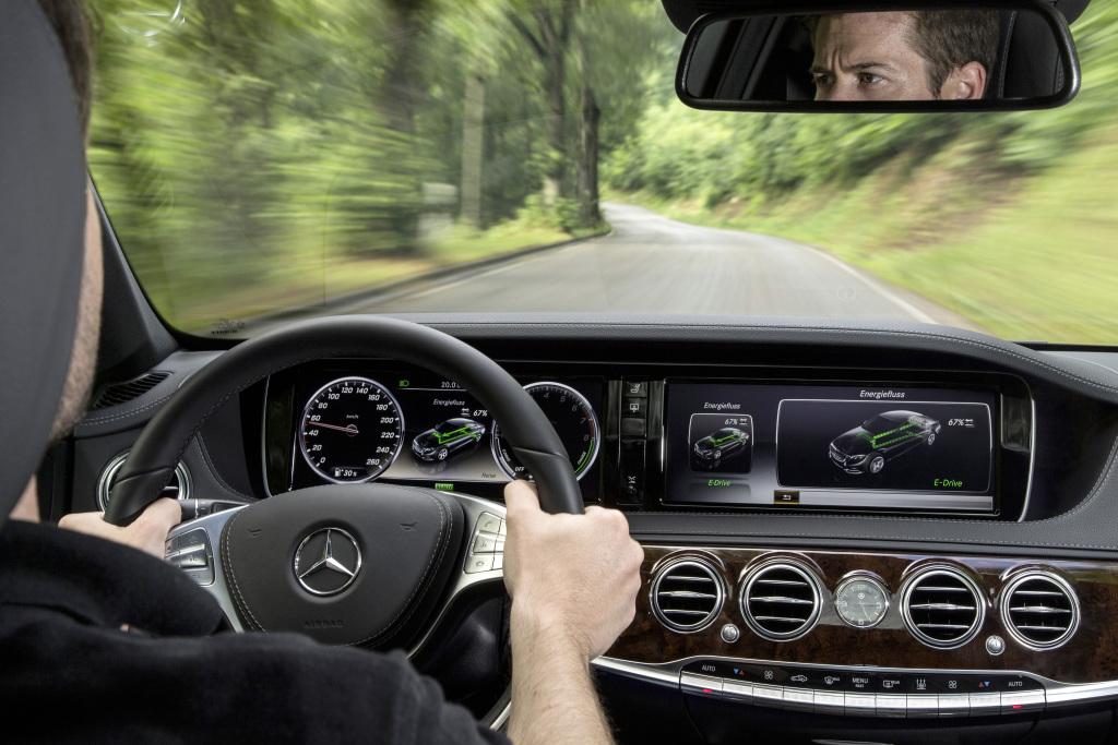 Mercedes-Benz S 500 PLUG-IN HYBRID, Interieur ; Mercedes-Benz S 500 PLUG-IN HYBRID, interior;