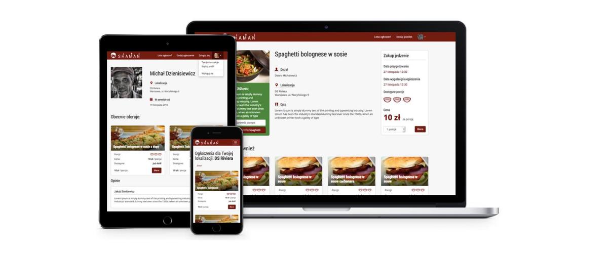 Koniec z wyrzucaniem żywności. Shaman to polska platforma do wymiany i sprzedaży domowego jedzenia