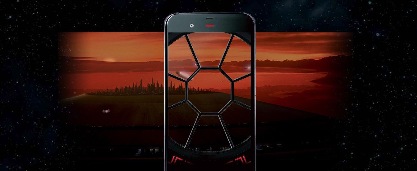 Jak wyglądałyby smartfony Luke'a Skywalkera i Dartha Vadera? Właśnie tak