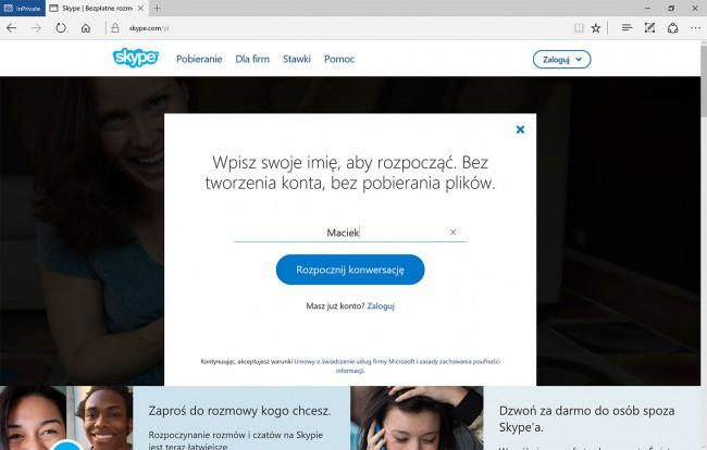 Skype bez konta