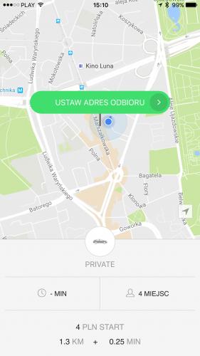 Taxify wchodzi na polski rynek