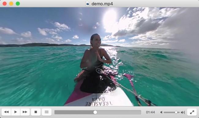 VLC 360 - wideo sferyczne na Windows i macOS