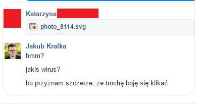 Dostałeś na Facebooku wiadomość photo_XXXX.svg? Nie klikaj, to kolejne oszustwo!