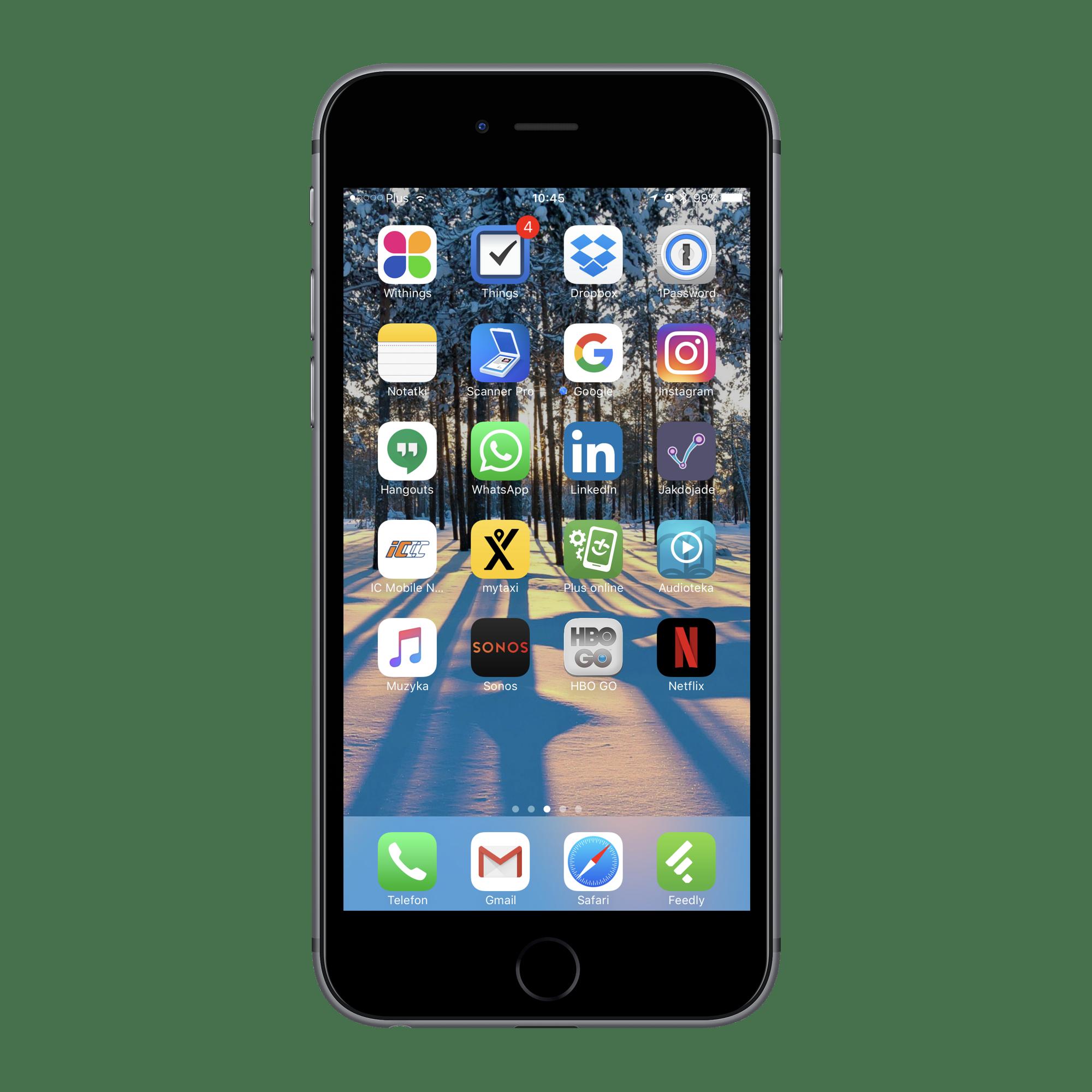 iPhone - najlepsze aplikacje mobilne