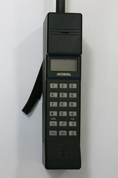 """""""Kieszonkowy"""" Mobira Cityman 450 z 1985, autor: Fennoradio"""