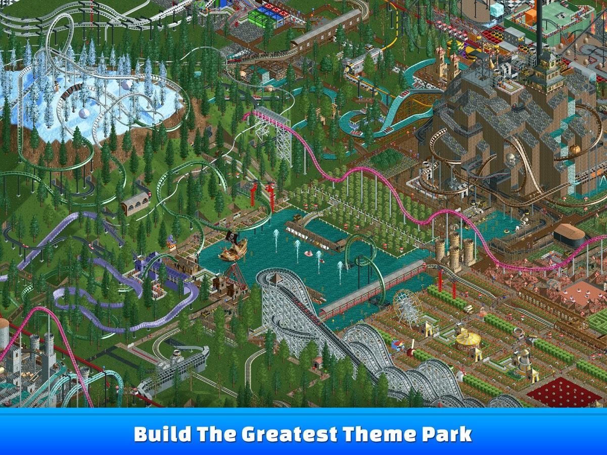 Legenda powraca. Możesz już zagrać w RollerCoaster Tycoon na tablecie z iOS lub Androidem
