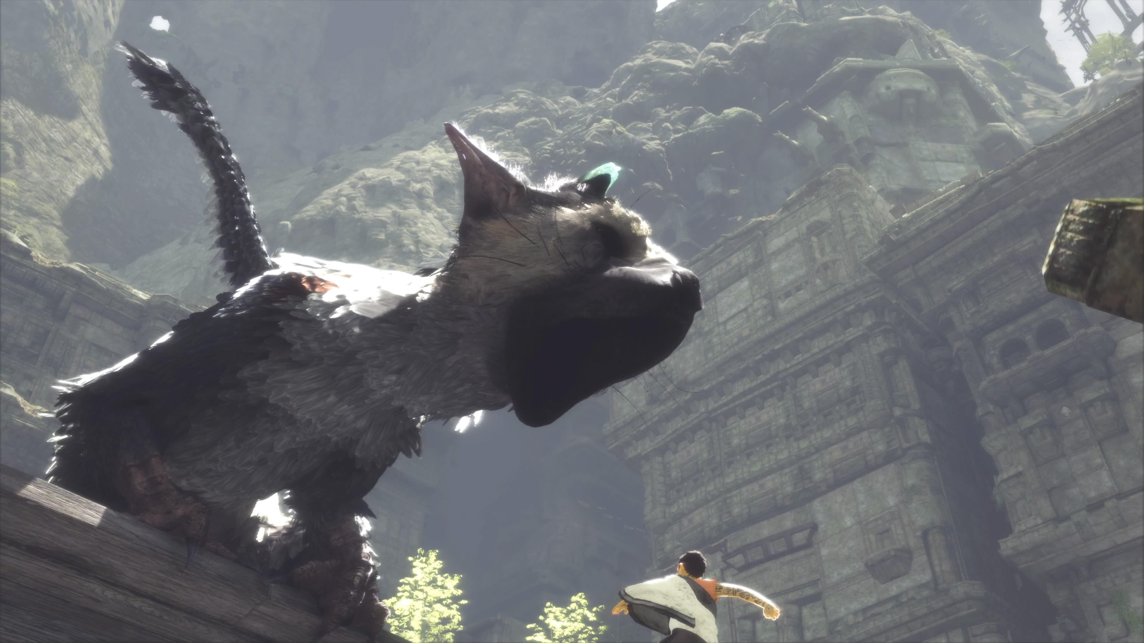 Trico z The Last Guardian wygląda niezwykle szczegółowo! Może nawet… za bardzo