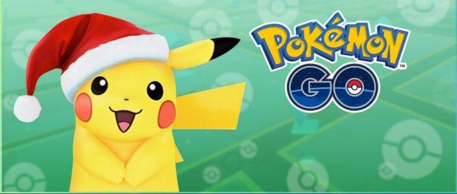 Pokemon GO Pikachu mikołaj