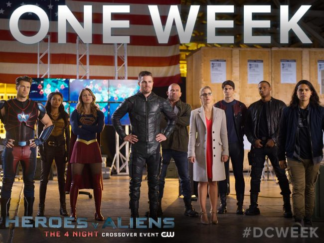 invasion dc crossover arrow flash supergirl legends of tomorrow