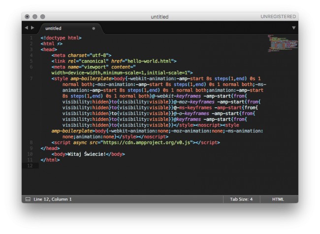kod-html-amp