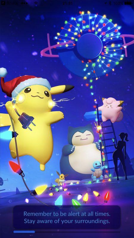Pokemon GO Nowy Ekran Ładowania