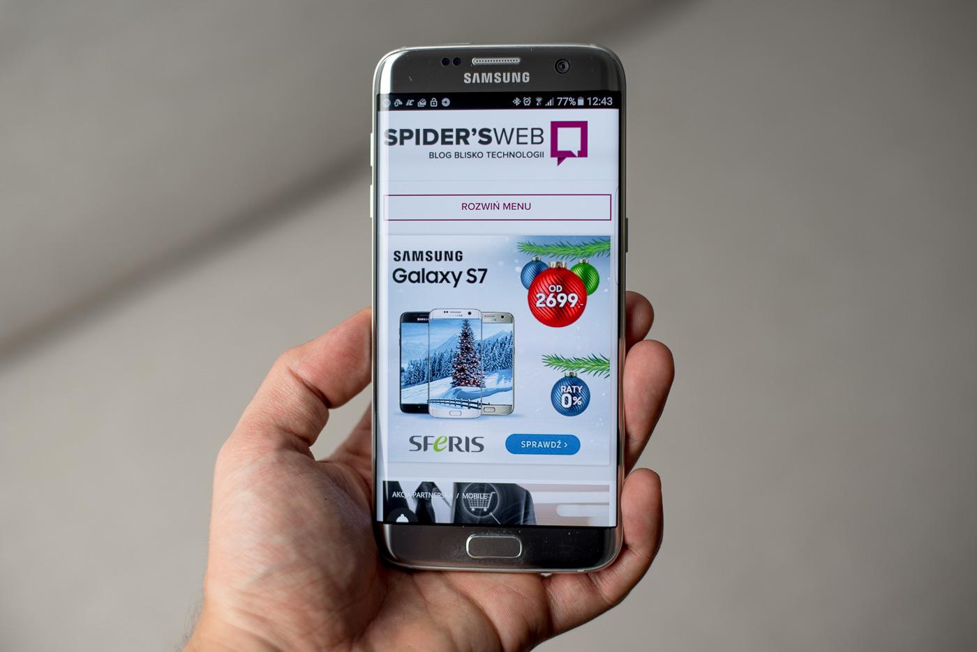 [AKTUALIZACJA] Samsung wznowił aktualizuję Galaxy S7 do Androida Oreo. Polacy nadal czekają