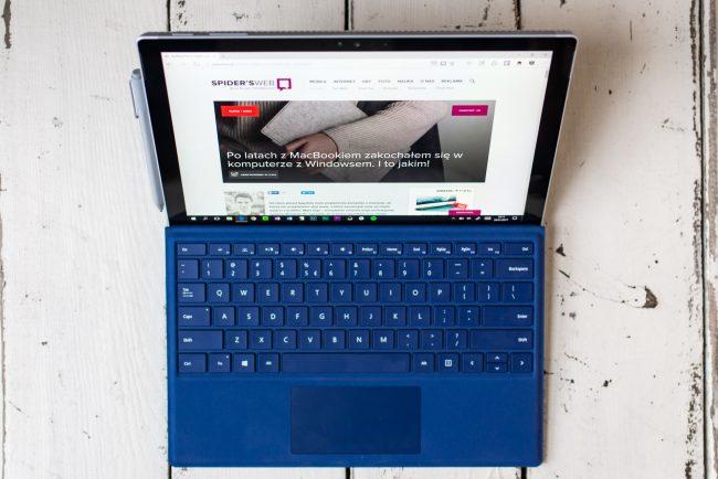 Surface Pro 4 to najlepszy laptop z Windowsem na rynku.