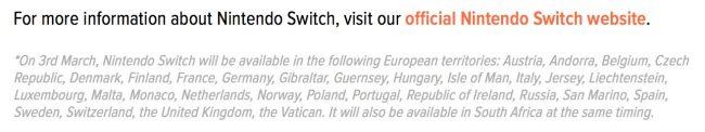 Nintendo Switch polska premiera