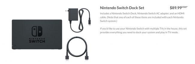 Nintendo Switch cena gier i akcesoriów.