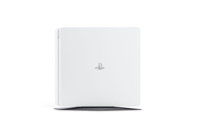Białe PS4 Slim - PlayStation 4 Mroźna biel