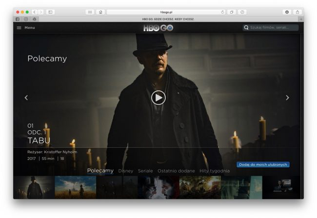 Co zamiast Kinoman.tv? HBO GO