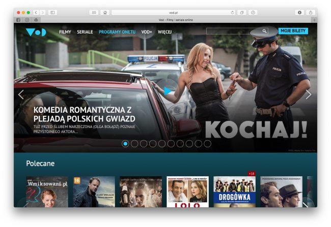 Co zamiast Kinoman.tv? Vod.pl od Onetu