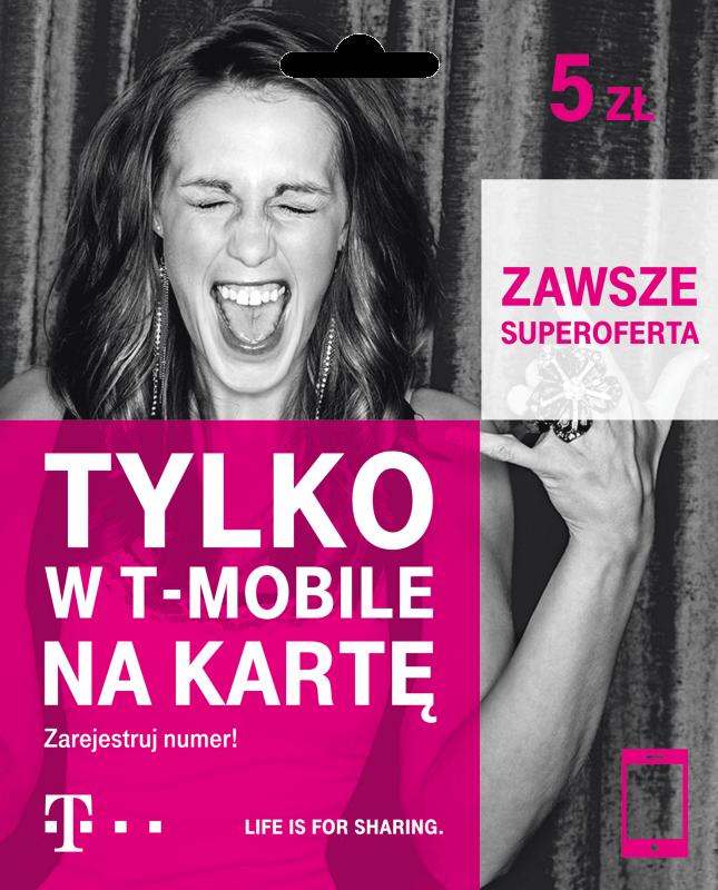 T-Mobile na kartę 2017
