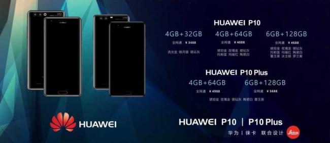Huawei P10 cena