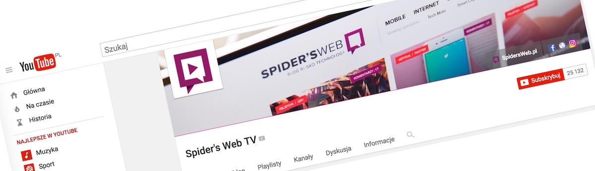 Dajcie szansę Spider's Web TV!
