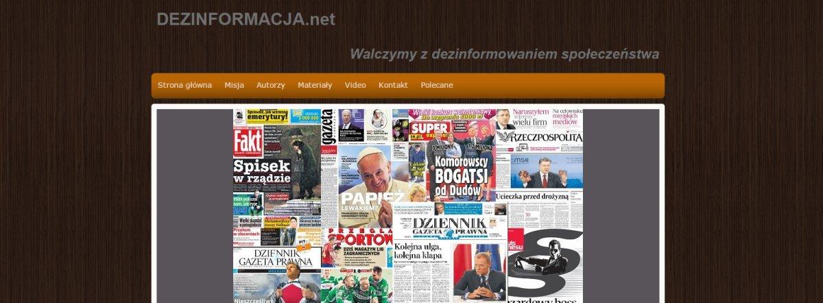 Poznajcie medialny start-up Bartłomieja Misiewicza – dezinformacja.net