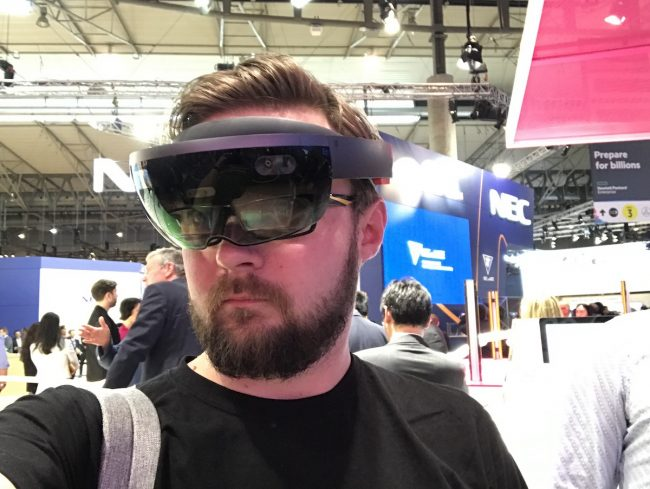 Hololens T-Mobile MWC 2017