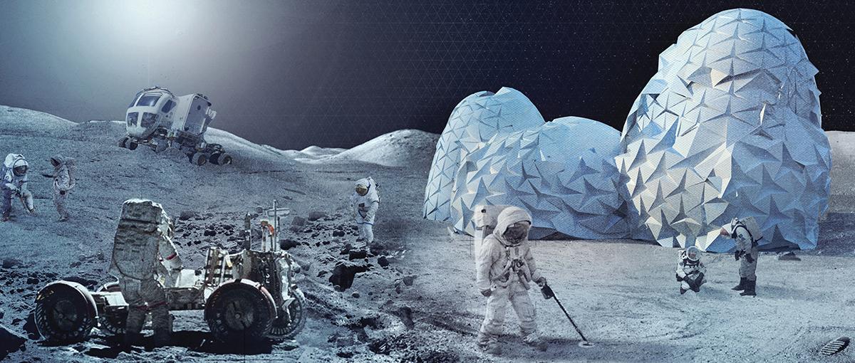 Brawo! Polski projekt bazy księżycowej zdobył pierwsze miejsce w konkursie Moontopia