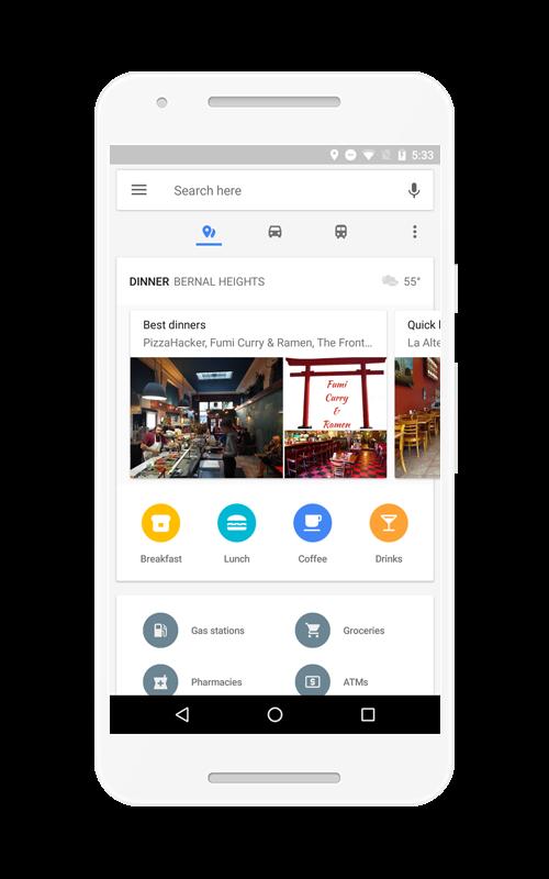 mapy google aktualizacja