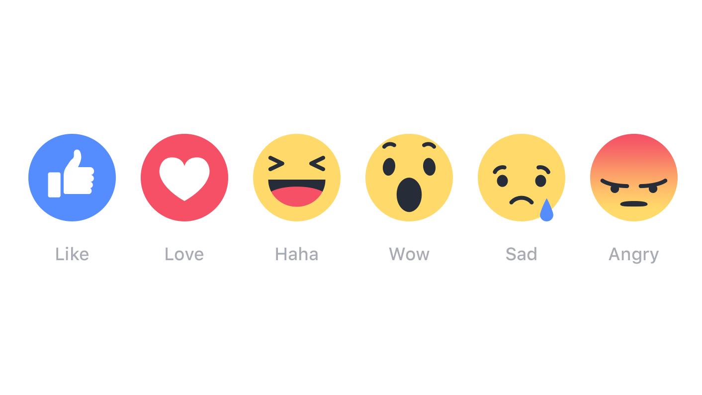 Minął rok od czasu, gdy Facebook wzbogacił lajki o serduszka, uśmieszki i warczenie. Jak z nich korzystamy?